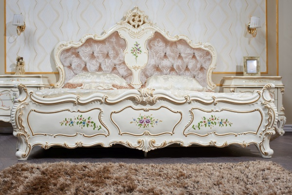Спальня Шанель купить в салоне-студии мебели Барселона mnogospalen.ru много спален мебель Италии классические современные