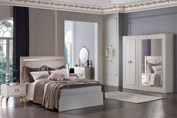 Спальня Veyron купить в салоне-студии мебели Барселона mnogospalen.ru много спален мебель Италии классические современные